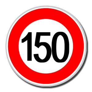limite 150 personas